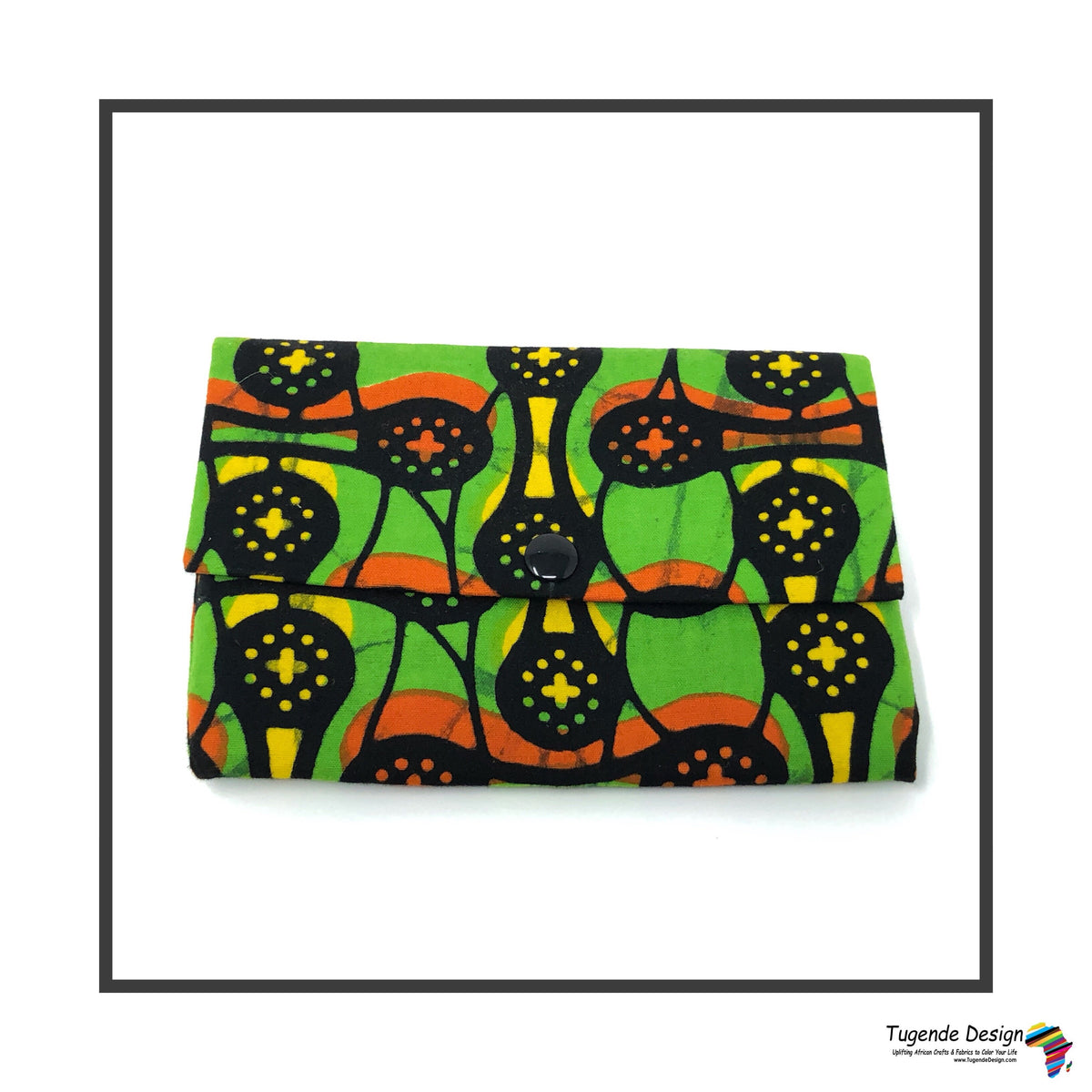 Kitenge Fabric Wallet (small)