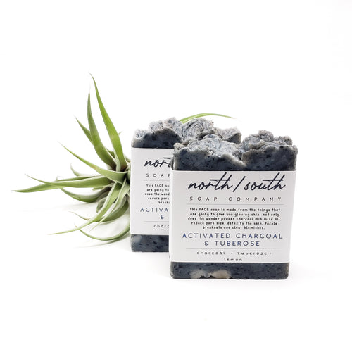 Activated Charcoal and Tuberose Natural Soap