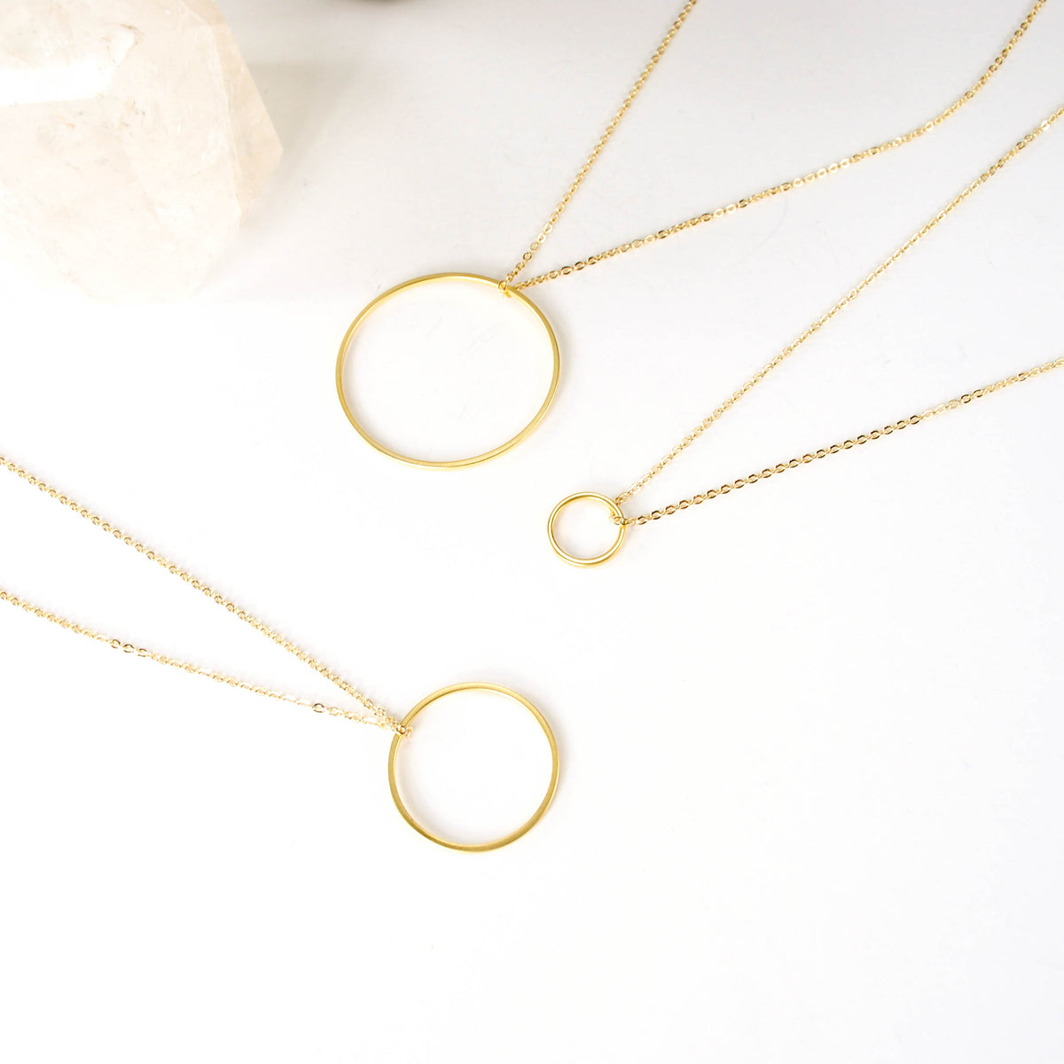 Circle of Friends - Small Gold Plated