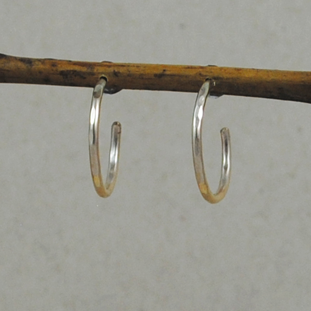 Petite Hoop Earrings - gold-filled