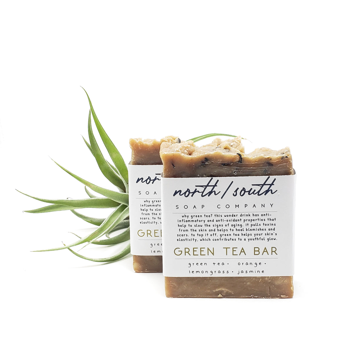 Green Tea Bar Natural Soap