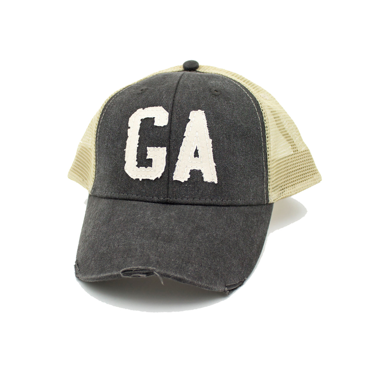 GA Trucker Hat - Black