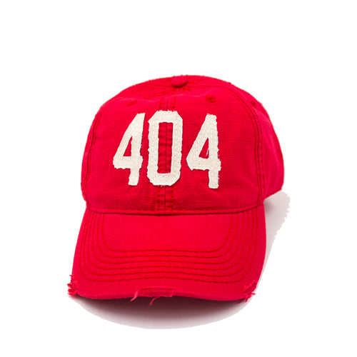 404 Hat - Red