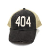 404 Trucker Hat - Black