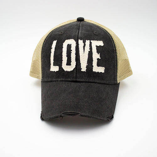 Love - Black Trucker