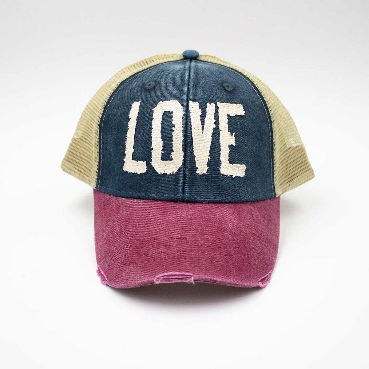 Love - Tricolor Trucker