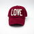 Love - Maroon Hat