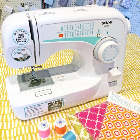 Sewing 101 - Intro to the Sewing Machine