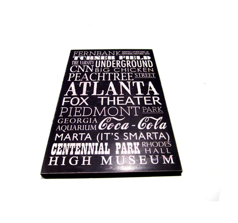 Subway Board - Atlanta Landmarks
