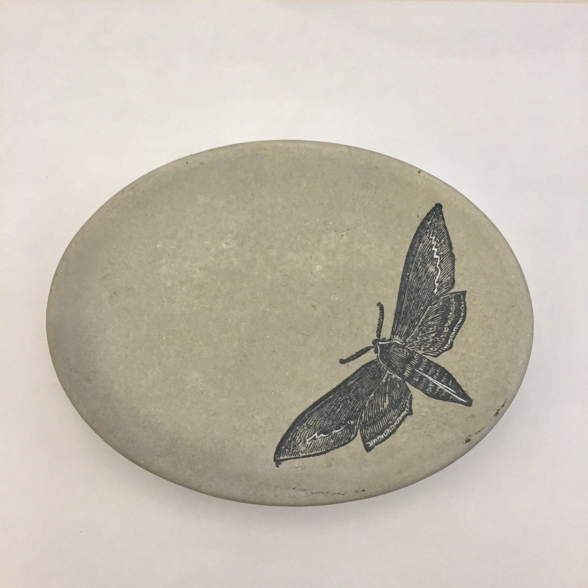 Concrete Butterfly Soap Dish