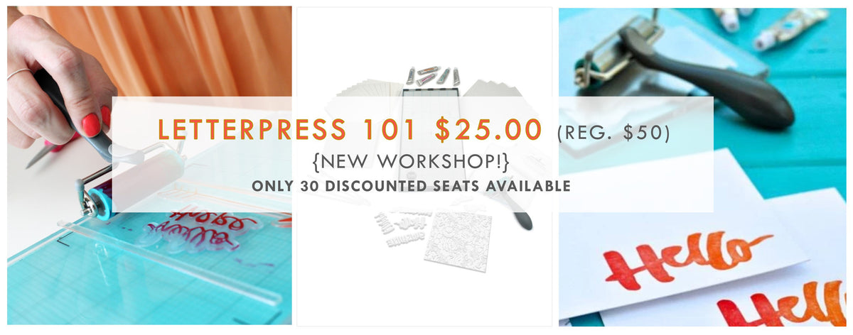 Stationery 101: Letterpress + Embossing