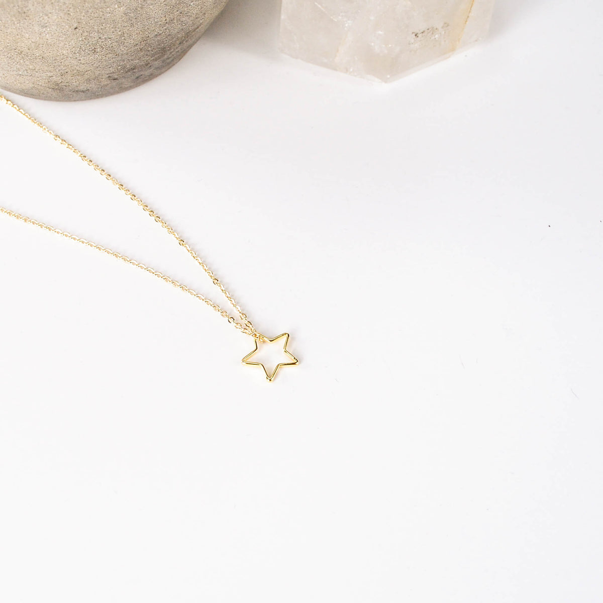 Lucky Star Necklace - Gold Plated