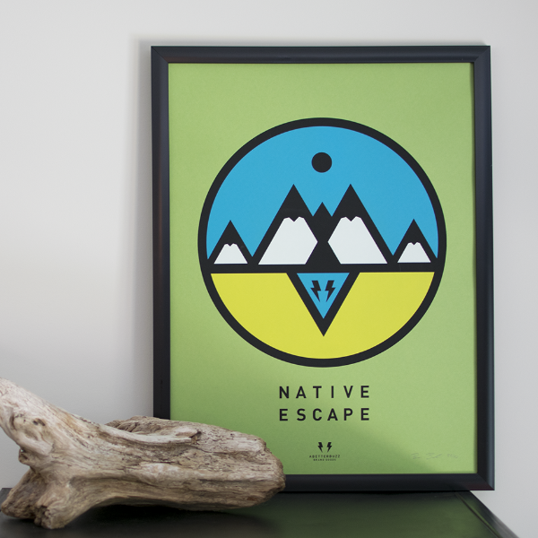 Native Escape Poster