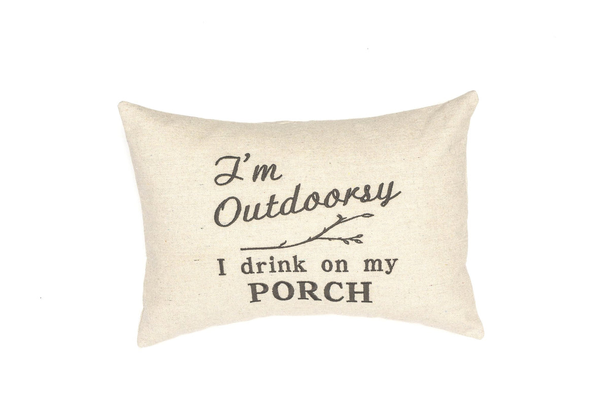 I'm Outdoorsy Pillow
