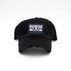 DIRTY SOUTH ATLANTA CASSETTE PATCH HAT - BLACK
