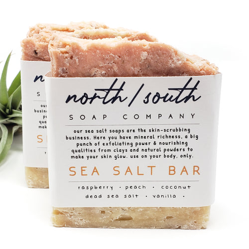 Sea Salt Bar - Peach