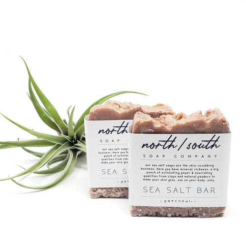 Sea Salt Bar - Patchouli