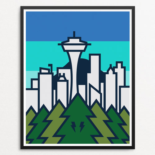 Skyline Series - Seattle (8x10)
