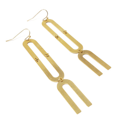 Single Statement Chandelier Earrings