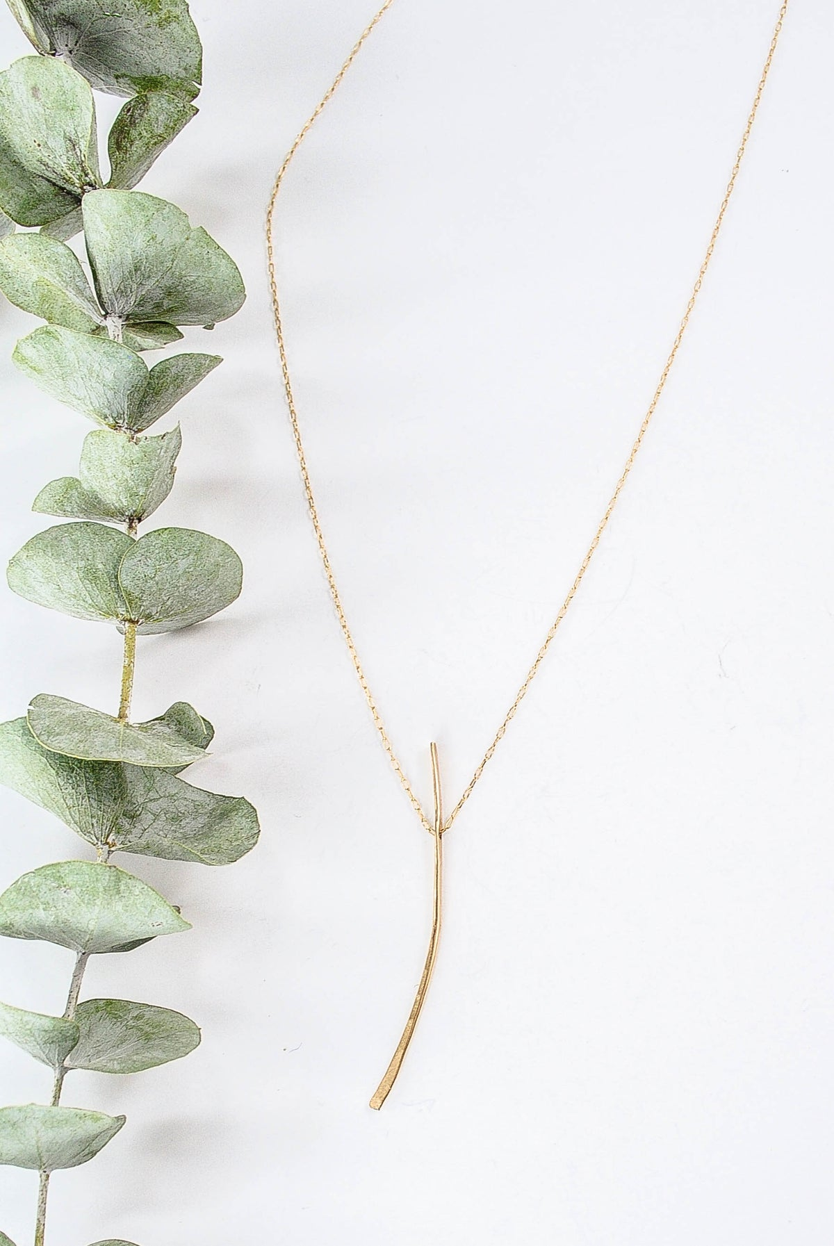 Stick Necklace in Gold Filled