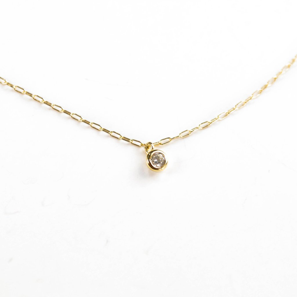 Sweetness CZ Necklace - Gold Filled