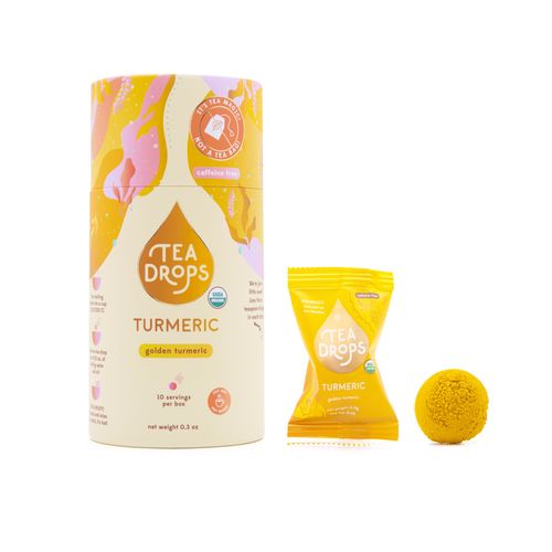 Turmeric Tea Drops - Compostable Container