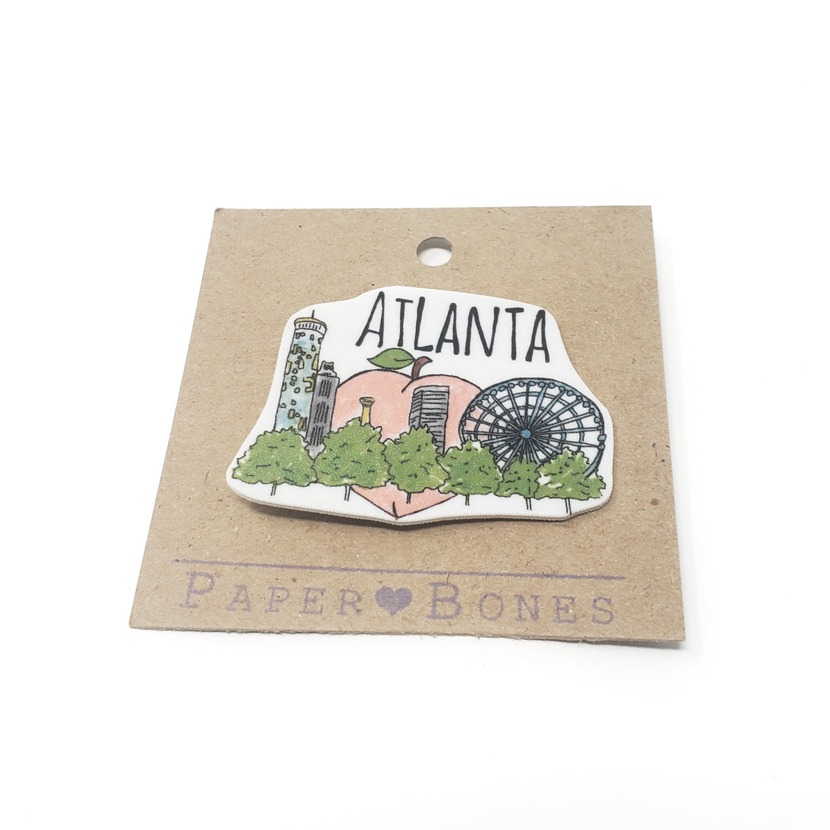 Atlanta Skyline Magnet