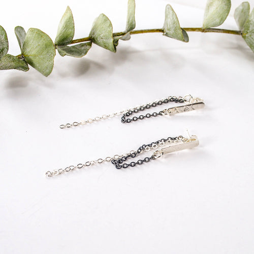 Anchor Chain Earrings