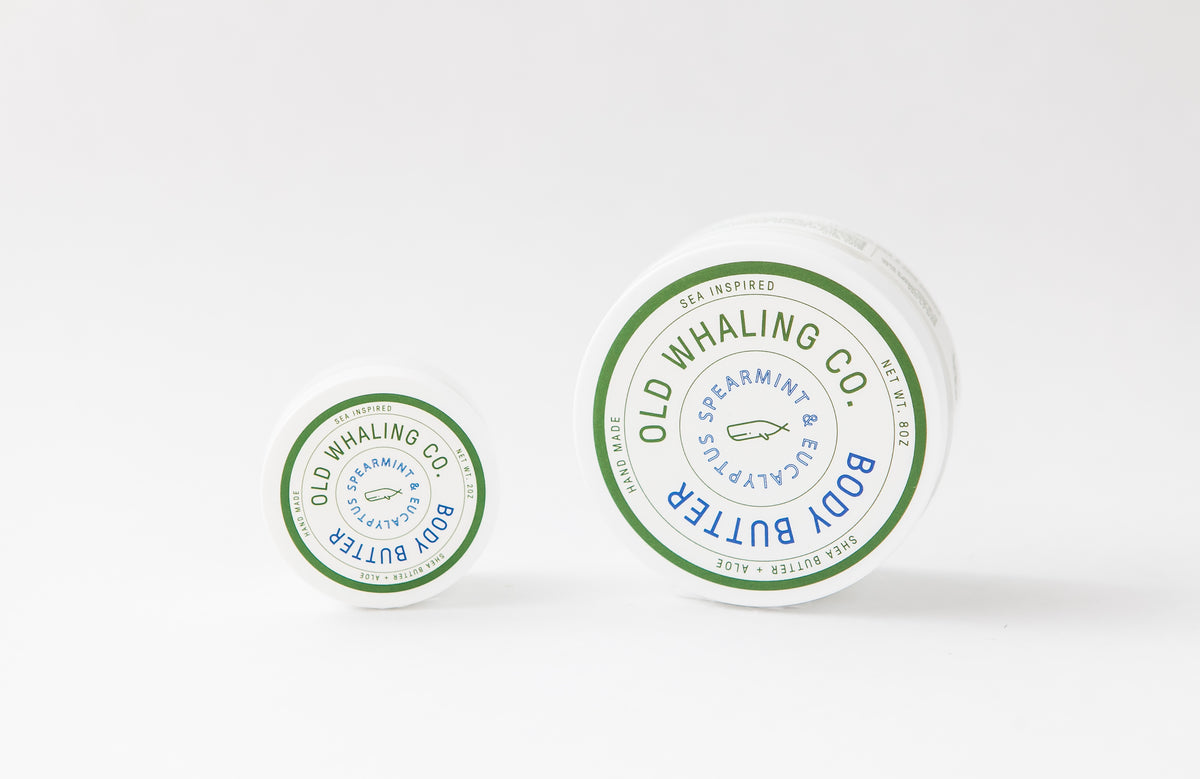 Old Whaling Company - Spearmint + Eucalyptus Body Butter 8oz