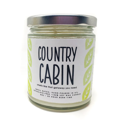 Candle - Country Cabin