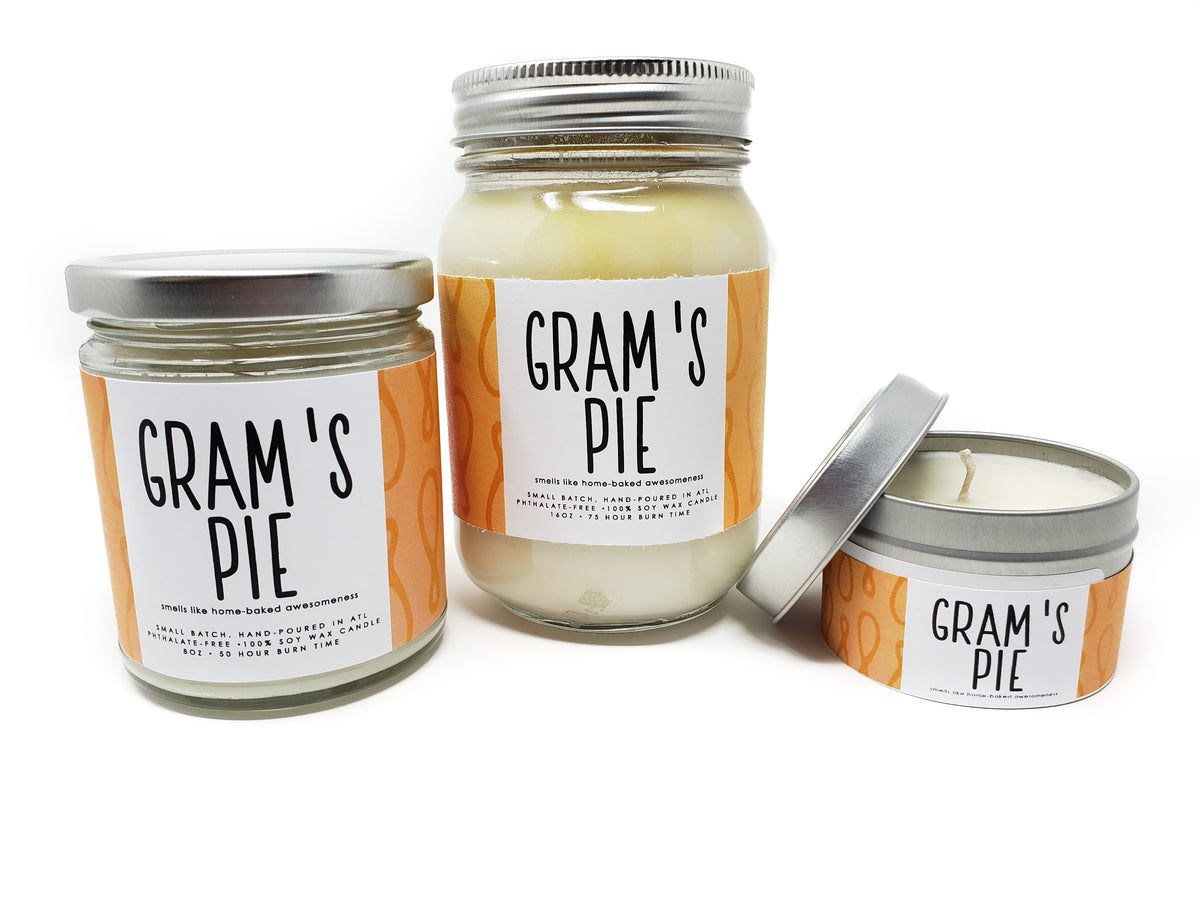 Candle - Gram's Pie