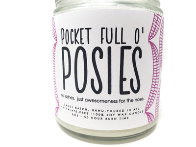 Candle - Pocket Full O' Posies