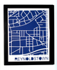 Reynoldstown Neighborhood Paper Cut Map
