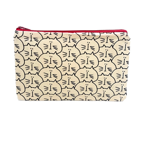 Chat Zipper Pouch