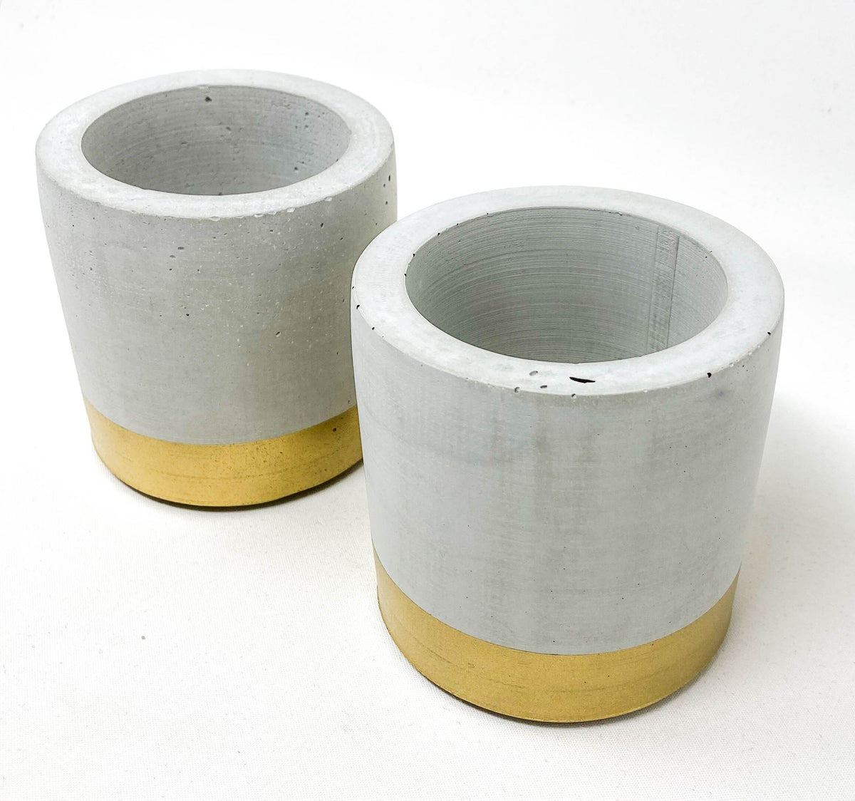 Concrete Cylinder Pot - Small