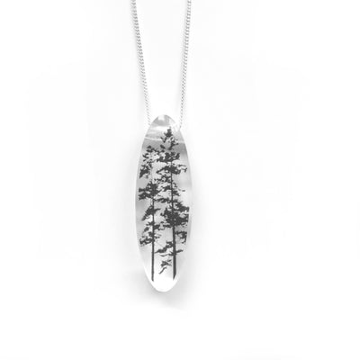 Oval Forest Necklace