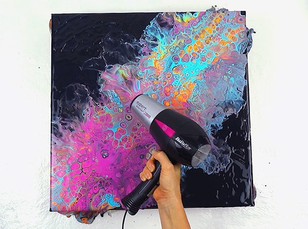 Abstract Acrylic Art :: Flip Cup 101