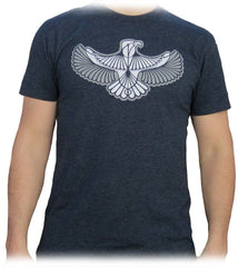 Steel Wings Midnight Navy Screenprinted Shirt