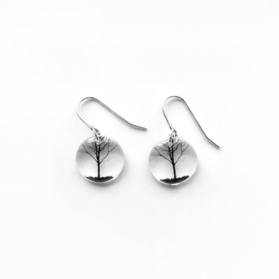 Round City Tree Earrings