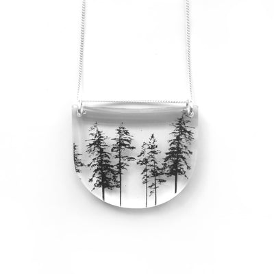 Drop Forest Necklace