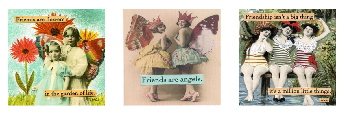 "magnet set by ian nicholas - ""Friendship"""