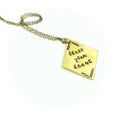 Bless Your Heart Necklace