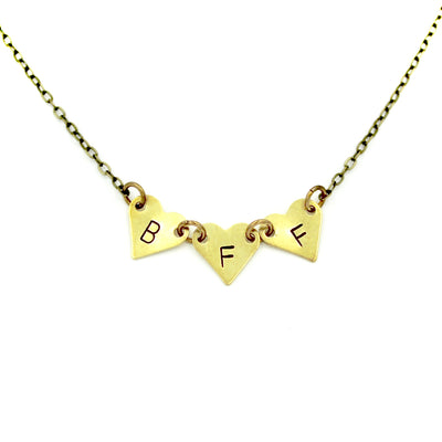 BFF Hearts Necklace