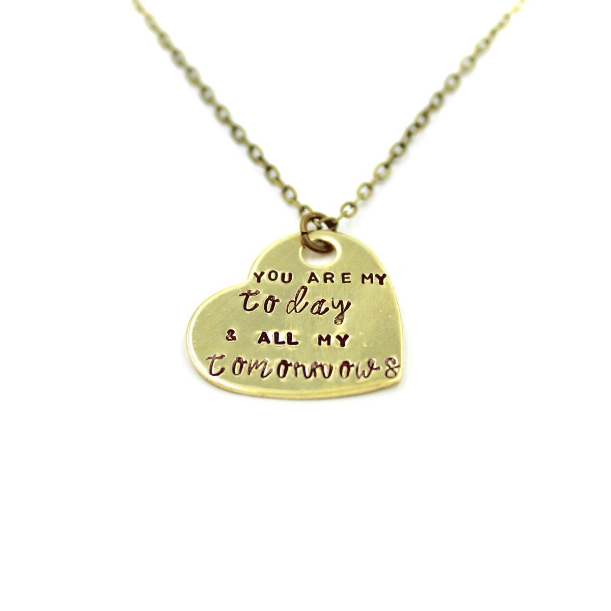 You Are My Today & All My Tomorrows Necklace