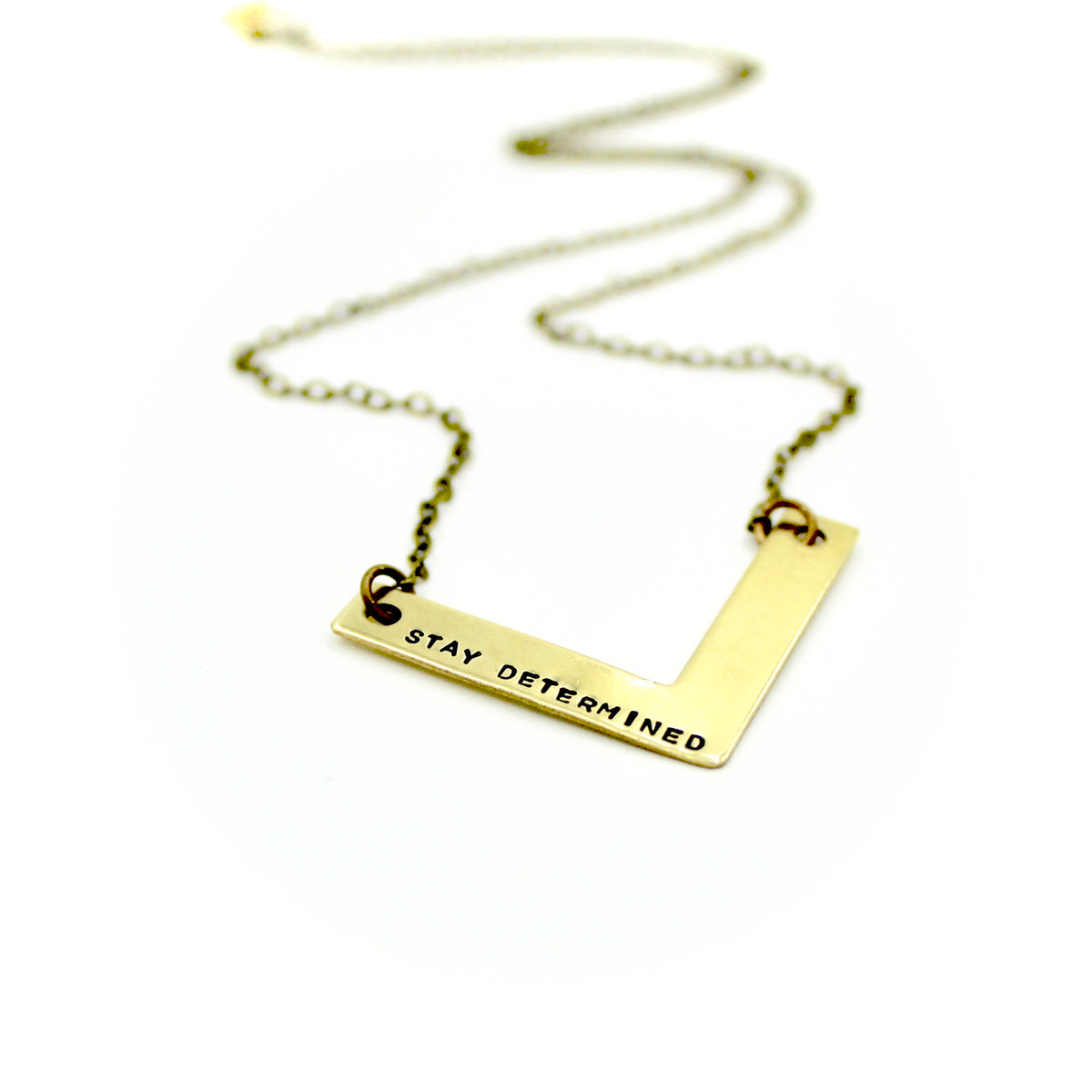 Stay Determined Necklace