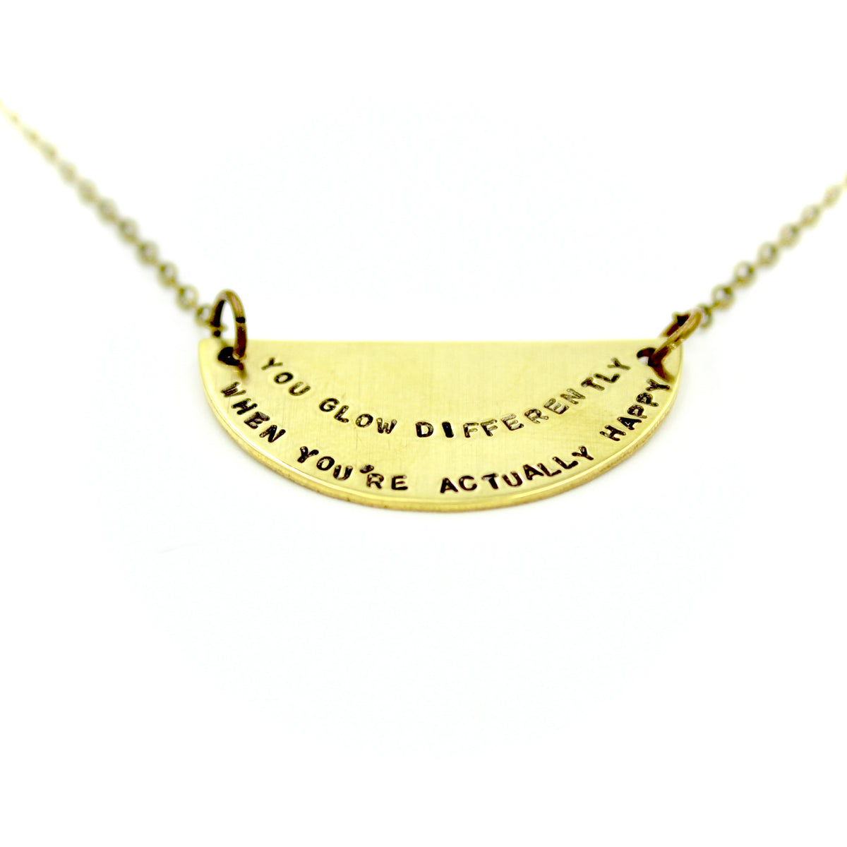 You Glow Differently  Necklace