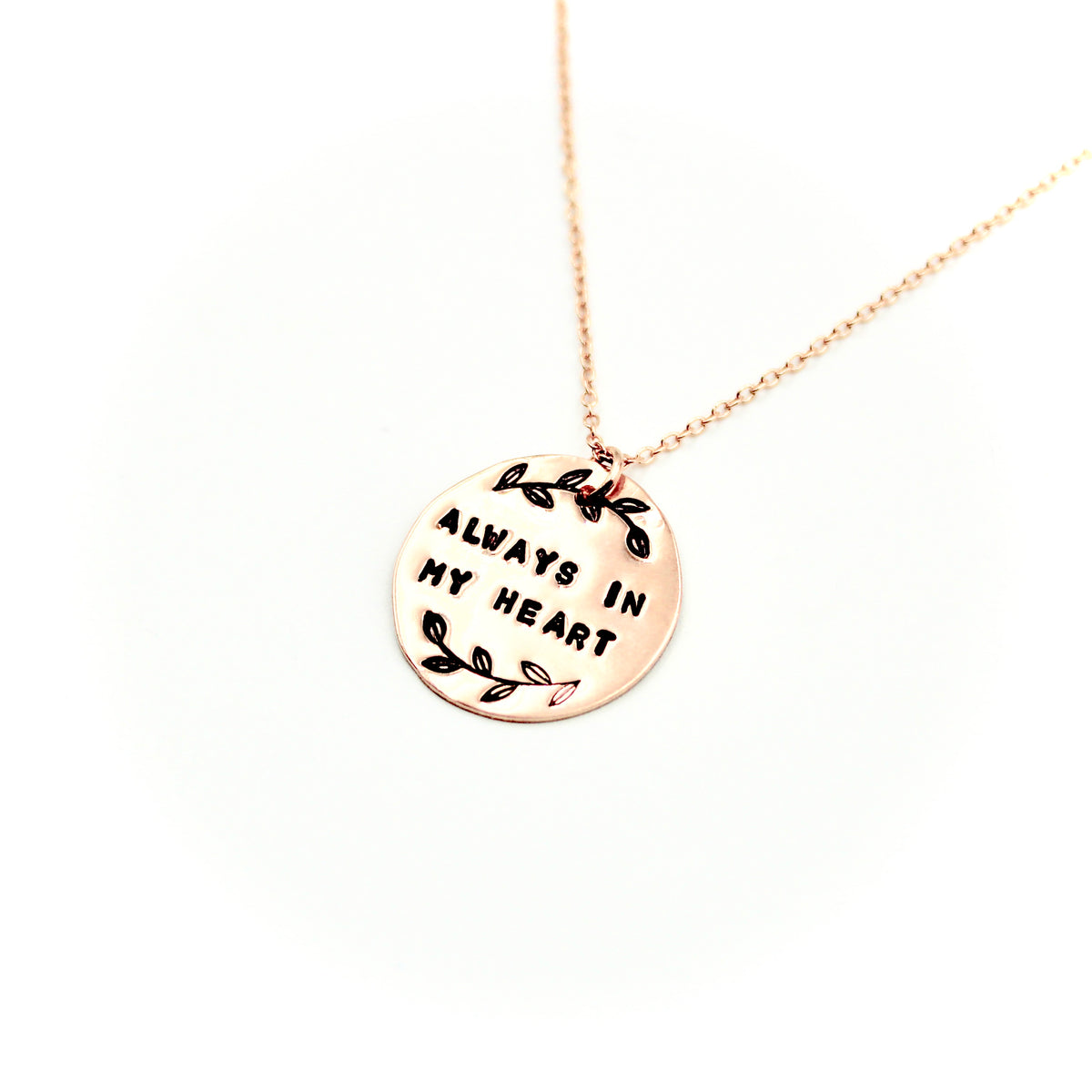 Always In My Heart Rose Gold-Filled Necklace