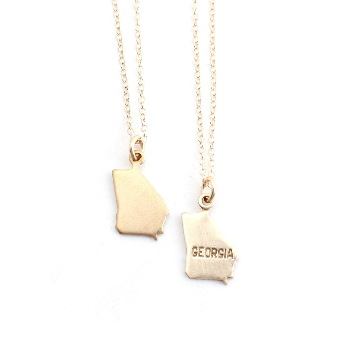 Georgia - charm necklace