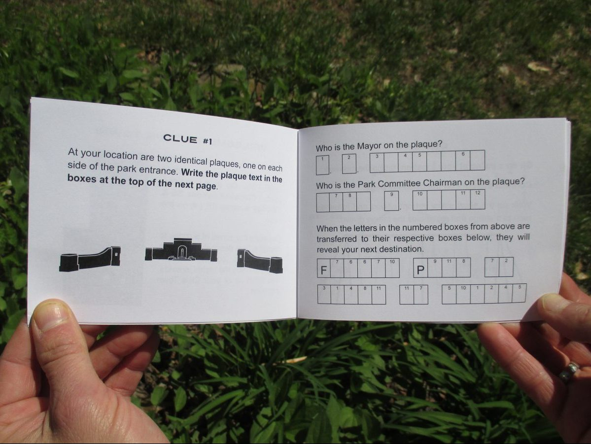 Clue Town Mini Hunt: Grant Park