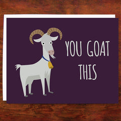 You Goat This - Blank Inside
